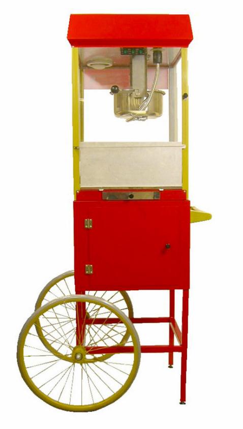 dekorationsmaterial popcorn wagen. Black Bedroom Furniture Sets. Home Design Ideas